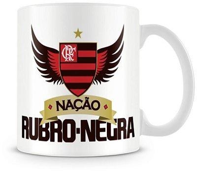 Caneca Personalizada Porcelana Time Flamengo Futebol Clube