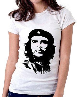 Camiseta Feminina Baby Look Personalizada Estampa Che Guevara