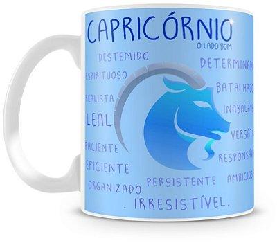 Caneca Personalizada Porcelana Signo de Capricórnio