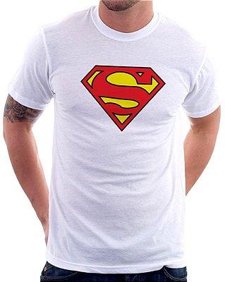 Camiseta Masculina Personalizada Estampa Super Man