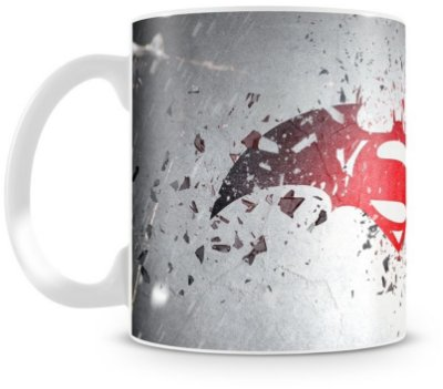 Caneca Personalizada Porcelana Batman vs Superman (Mod.1)