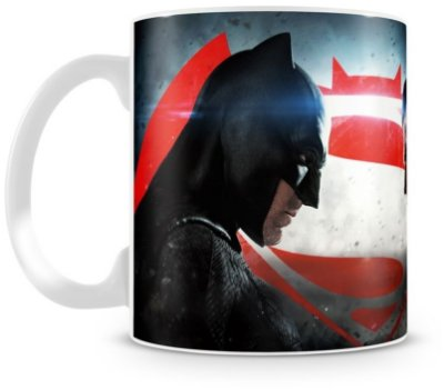 Caneca Personalizada Porcelana Batman vs Superman (Mod.2)
