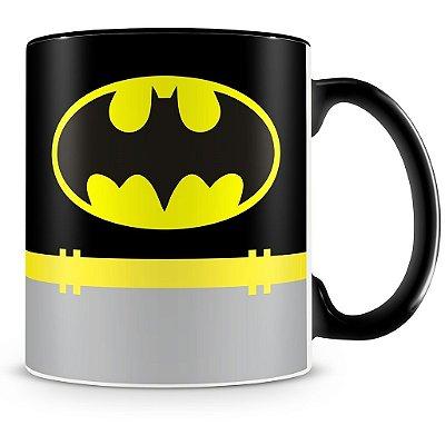 Caneca Personalizada Porcelana Batman (Preta)