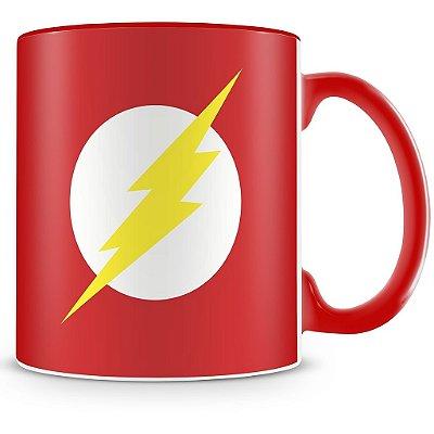 Caneca Personalizada Porcelana Flash (Vermelha)