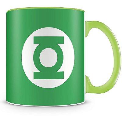 Caneca Personalizada Porcelana Lanterna Verde