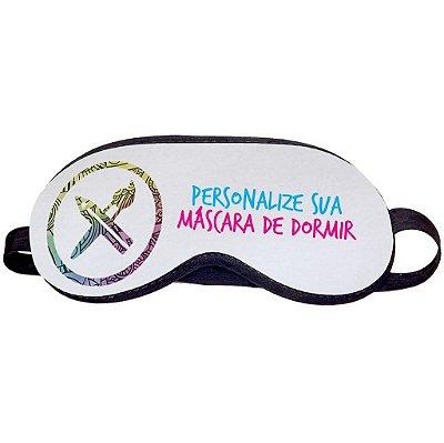 Máscara de Dormir Personalizada do Seu Jeito