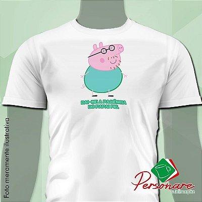 Camisetas Personalizadas - Papai Pig