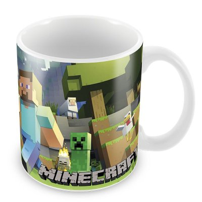 Caneca do Minecraft