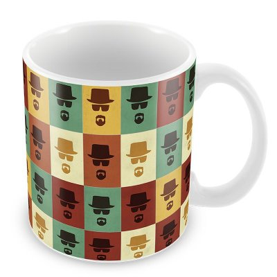 Caneca do Heisenberg - Breaking Bad