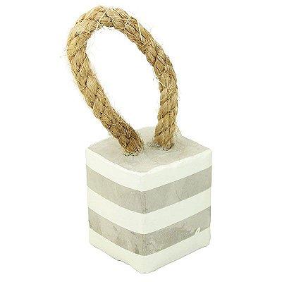 Peso de porta em cimento