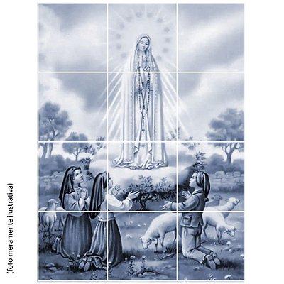 Mosaico de Azulejos - Nossa Senhora de Fátima
