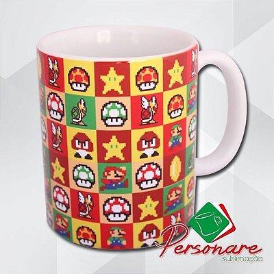 Caneca | Super Mario Bros Retrô