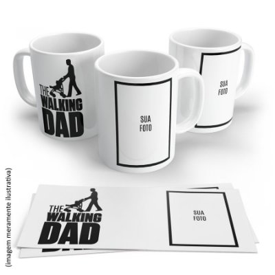 Caneca Walking Dad