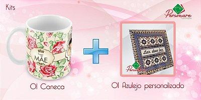 Kit Personalizado - Caneca + Azulejo