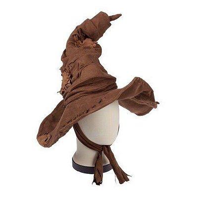 Chapéu Seletor Harry Potter (veste na cabeça)
