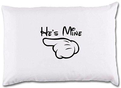 Fronhas He´s mine - She´s mine