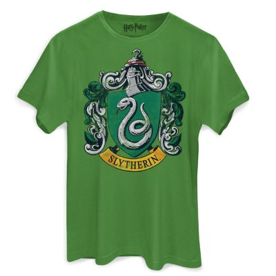 Camiseta Brasão Sonserina Verde