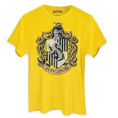 Camiseta Brasão Lufa Lufa Amarela
