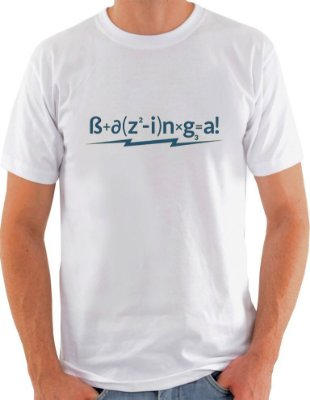 Camiseta Unisex The Big Bang Theory Bazinga