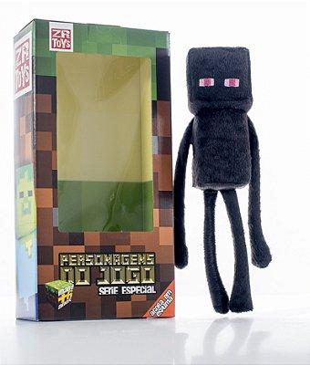 Boneco Minecraft Enderman