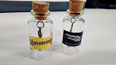 Kit feitiços Harry Potter no vidrinho - Wingardium Leviosa e Alohomora