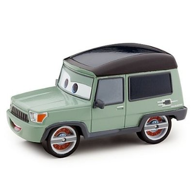 Disney-Pixar Carros 2 - Miles Axlerod