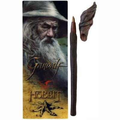 Caneta Cajado Gandalf acompanha marcador de livro