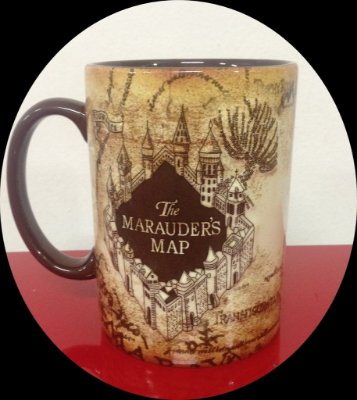 Exclusiva Caneca Mapa do Maroto