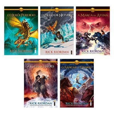 Kit Livros - Coleção Os Heróis do Olimpo - capa original