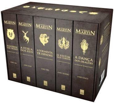 Box - As Crônicas de Gelo e Fogo - Edição de Colecionador – 5 Volumes