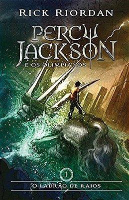 Livro - O Ladrão de Raios - Série Percy Jackson e os Olimpianos - capa nova - Livro 1