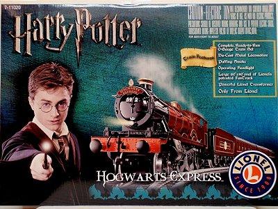 Conjunto Trem Ferrorama Harry Potter Hogwarts Express