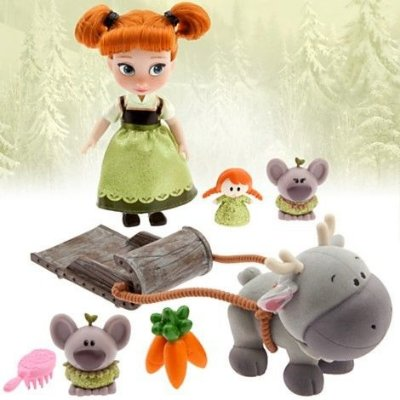 Conjunto Mini Animator Collection Anna 12cm