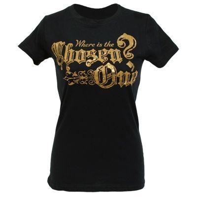 "Exclusiva Camiseta Adulto Feminina Original Harry Potter ""The chosen One"""