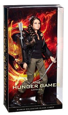 Exclusiva Barbie Jogos Vorazes Katniss - Edição Black Label