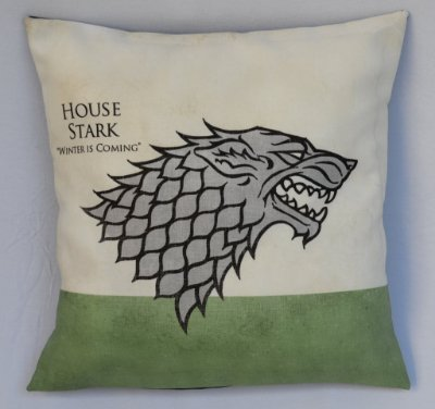 Almofada Game of Thrones - Casa Stark