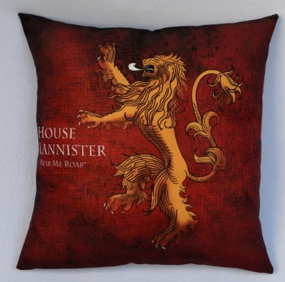 Almofada Game of Thrones - Casa Lanniester