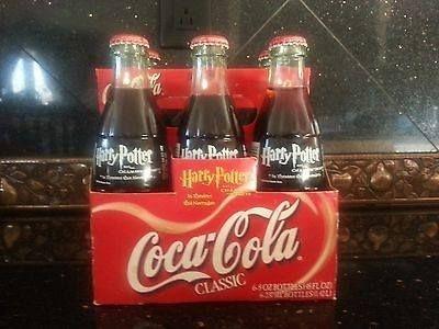 Exclusiva e Rara Coca-Cola Colecionável Harry Potter e a Câmara Secreta Natal 2001