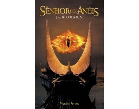O Senhor dos Anéis - Trilogia - Volume Único - capa flexível do filme