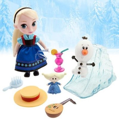 Conjunto Mini Animator Collection Elsa 12cm