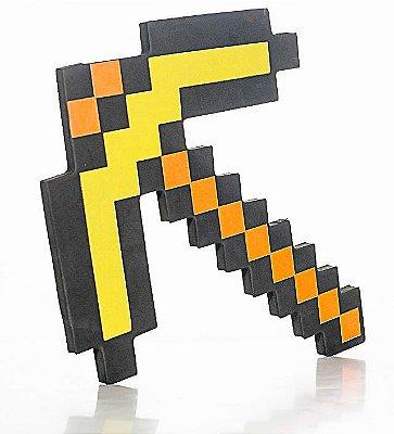Minecraft Picareta de Ouro