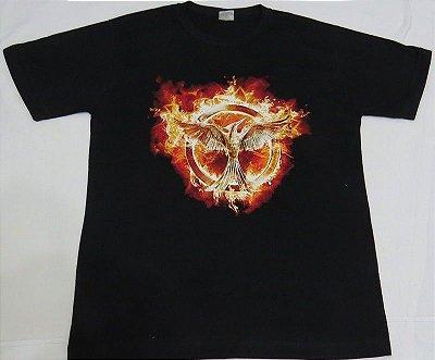 Camiseta Unissex Jogos Vorazes Em Chamas