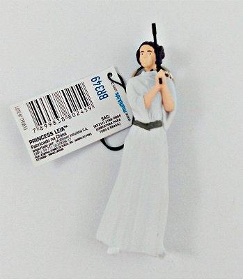 Chaveiro Star Wars Princesa Leia 7,5cm
