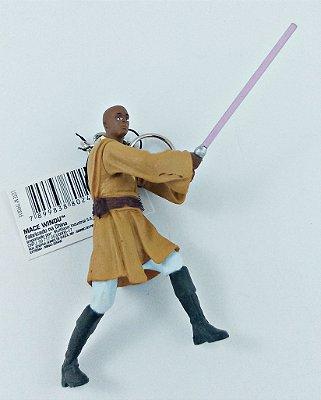 Chaveiro Star Wars Mace Windu 7,5cm