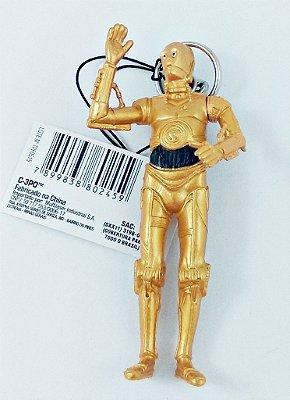 Chaveiro Star Wars C-3PO 8cm