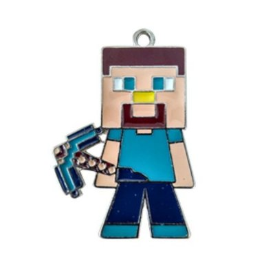 Colar Minecraft Steve
