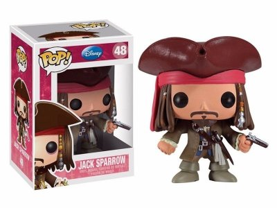 Funko Pop Piratas do Caribe - Jack Sparrow
