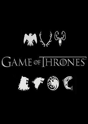 Exclusivo Caderno Artesanal em MDF Game Of Thrones - FRETE GRATIS