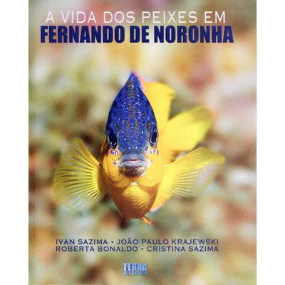 Livro A vida dos peixes em Fernando de Noronha