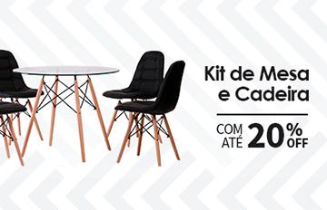 Kit de Mesa e Cadeira